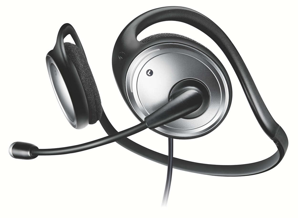 Stereofoninės multimedijos ausinės