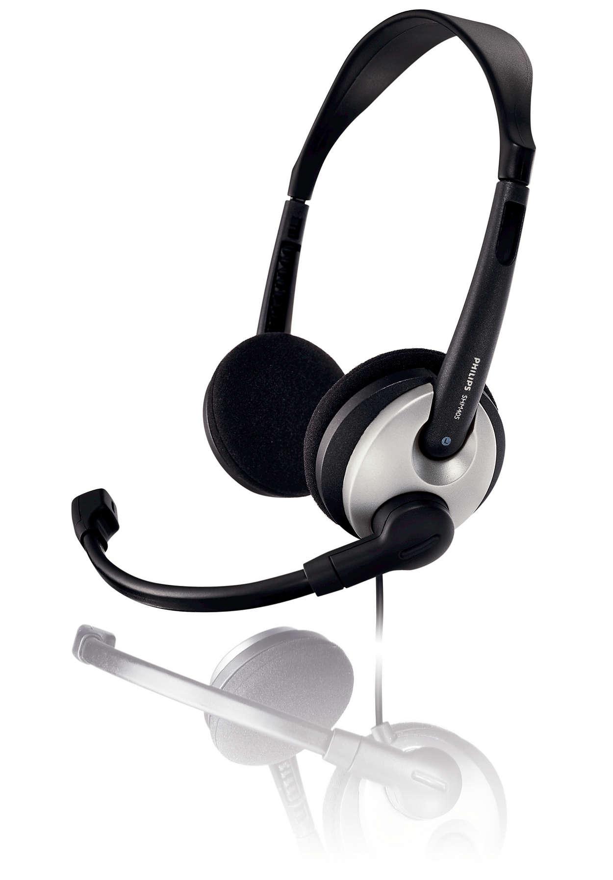 Lätt headset