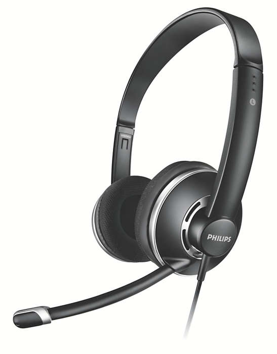 PC-stereohovedtelefoner i fuld størrelse
