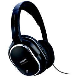 Geräuschreduzierende Kopfhörer mit Bügel