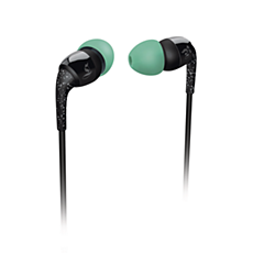 SHO1100BK/10  THE SHOTS in-ear headphones