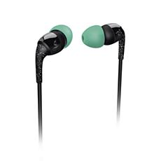 SHO1100BK/10 -    THE SHOTS ausīs ievietojamas austiņas