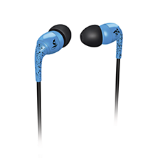 SHO1100BL/10  THE SHOTS in-ear headphones