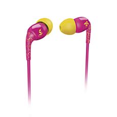 SHO1100PK/10 -    THE SHOTS ausīs ievietojamas austiņas