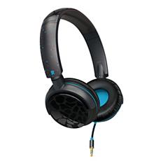SHO8801/28 O'Neill Audífonos con banda de sujeción cómoda