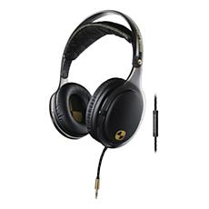 SHO9565BK/10 O'Neill THE STRETCH-hodetelefoner med hodebånd og mikrofon