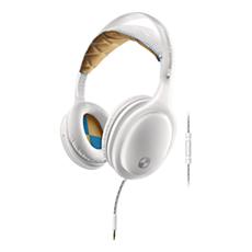SHO9565WT/10 -  O'Neill  THE STRETCH hörlurar med huvudband och mikrofon