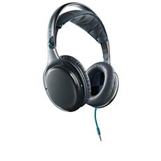 SHO9567GB/10 O'Neill THE STRETCH-hodetelefoner med hodebånd og mikrofon