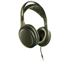 SHO9567GN/10 O'Neill THE STRETCH headband headphone with mic