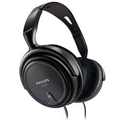 Audio sluchátka skabelem