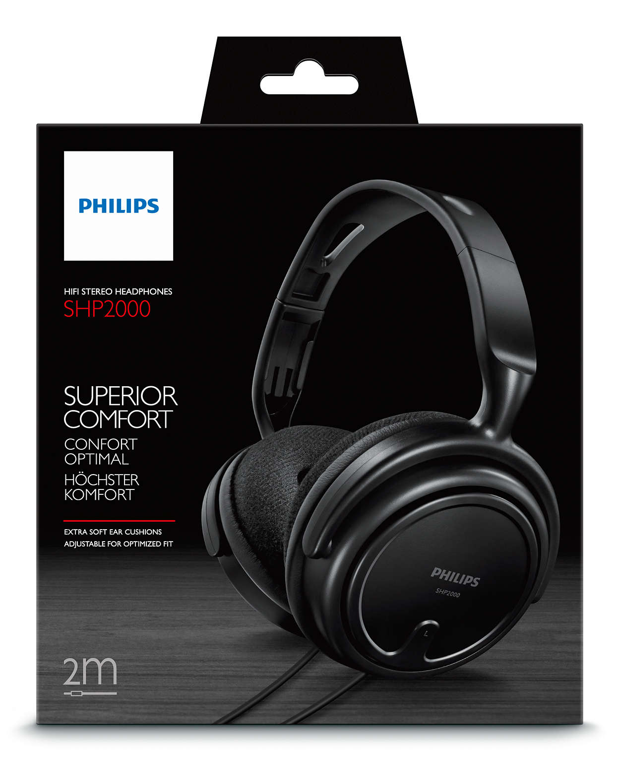 17eebae9837 Stereo Headphones SHP2000/97 | Philips