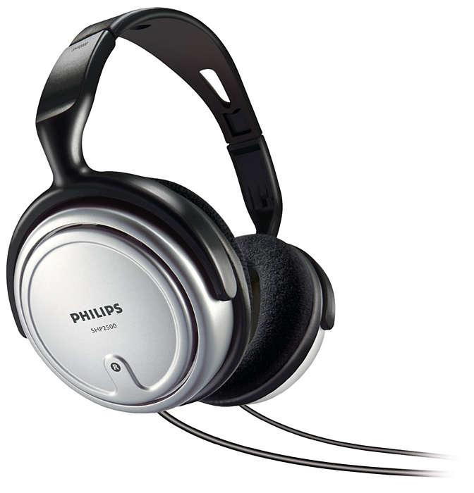 Stereo TV headphone