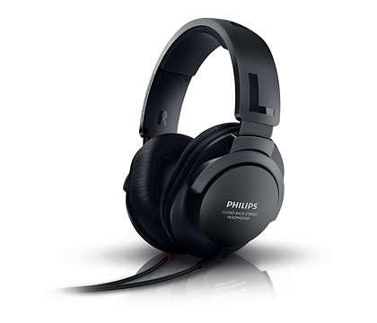 Audio nitido e naturale