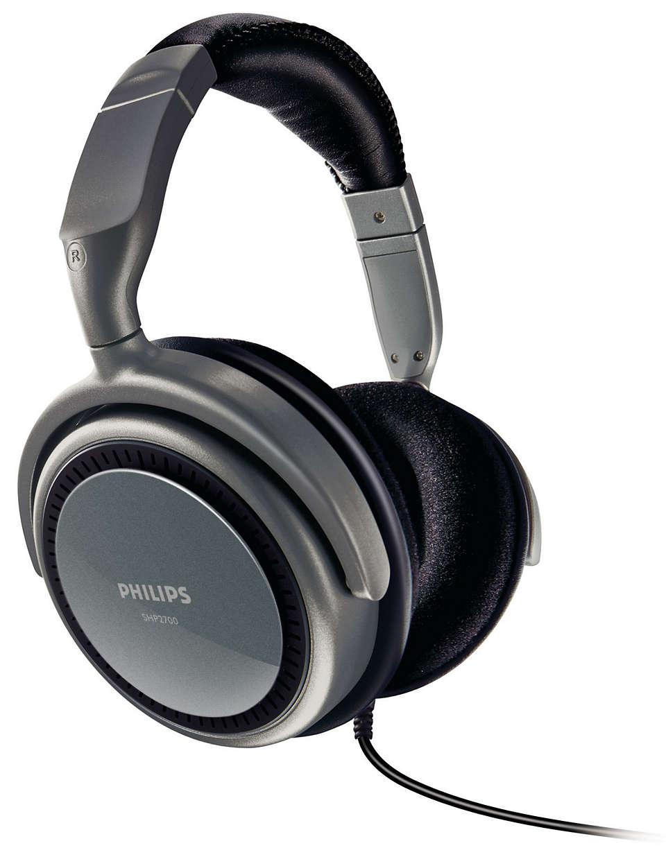 Audio potente e comfort superiore