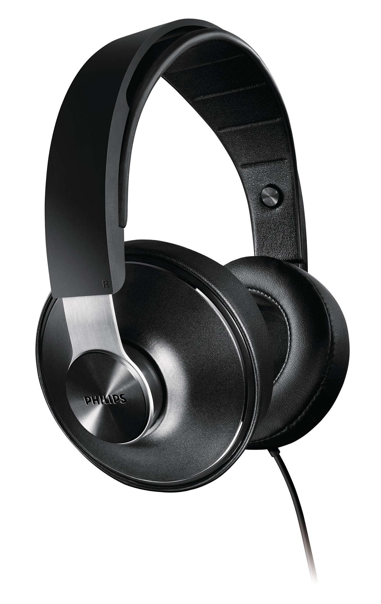 Augstas izšķirtspējas audio un perfekts komforts