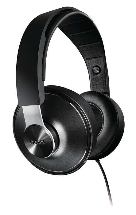 Áudio de alta resolução e ajuste perfeito