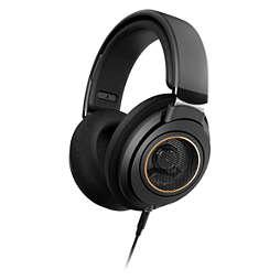 Headphone over ear
