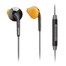 Sports in ear headset