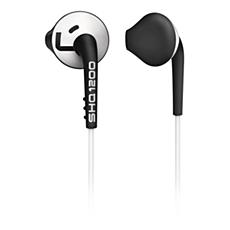 SHQ1200WT/28 ActionFit Fones de ouvido intra-auriculares esportivos