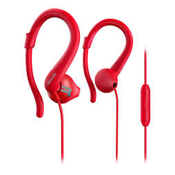 ActionFit Sports headphones with mic