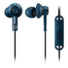 SHQ2405BL/00 ActionFit Auriculares deportivos con micrófono