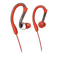 SHQ3000/10 ActionFit Audífonos deportivos con gancho para la oreja