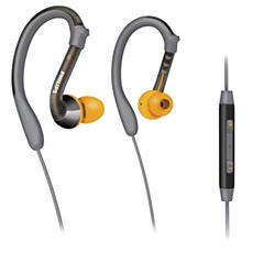 SHQ3007/28  Sportheadset med öronkrok