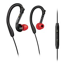 SHQ3017/10  Headset esportivo com gancho para orelha