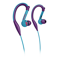SHQ3200PP/10 -   ActionFit Sportowe słuchawki z zaczepem na ucho