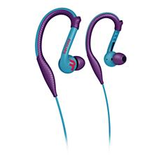 SHQ3200PP/98 ActionFit Sports earhook headphones