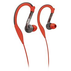 SHQ3200/10 ActionFit Fones de ouvido esportivos com gancho para orelha