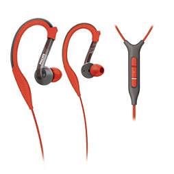 ActionFit Sports earhook headset