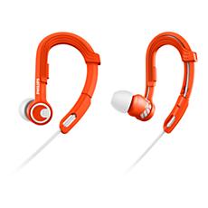 SHQ3300OR/00 ActionFit Sportsøretelefoner
