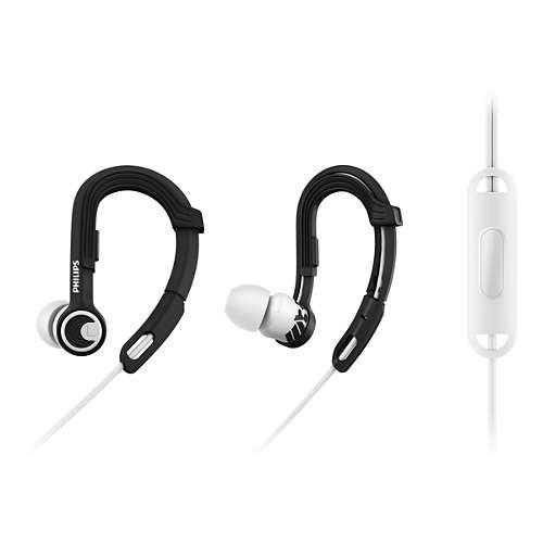 ActionFit Sporthoofdtelefoon met microfoon