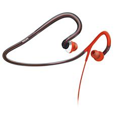 SHQ4000/10 ActionFit Auriculares deportivos con cinta para el cuello