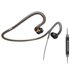 Sports neckband headset