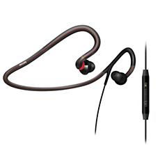 SHQ4017/10  Auriculares deportivos con banda para el cuello