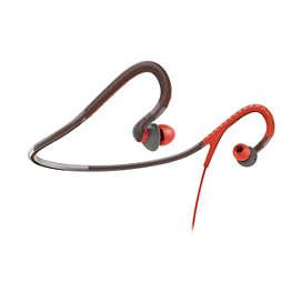 Sport-hoofdtelefoon met nekband