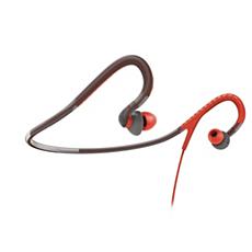 SHQ4200/10 -    Hörlurar med sportnackrem