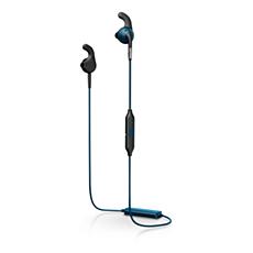 SHQ6500BL/00 ActionFit 藍牙® 運動型耳機