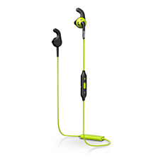 SHQ6500CL/00  سماعات الرأس الرياضية المزوّدة بتقنية Bluetooth®