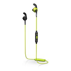 "SHQ6500CL/00 ActionFit ""Bluetooth®"" sportinės ausinės"