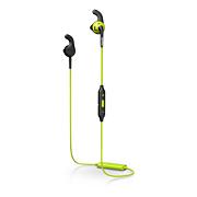 Fones de ouvido esportivos com Bluetooth®