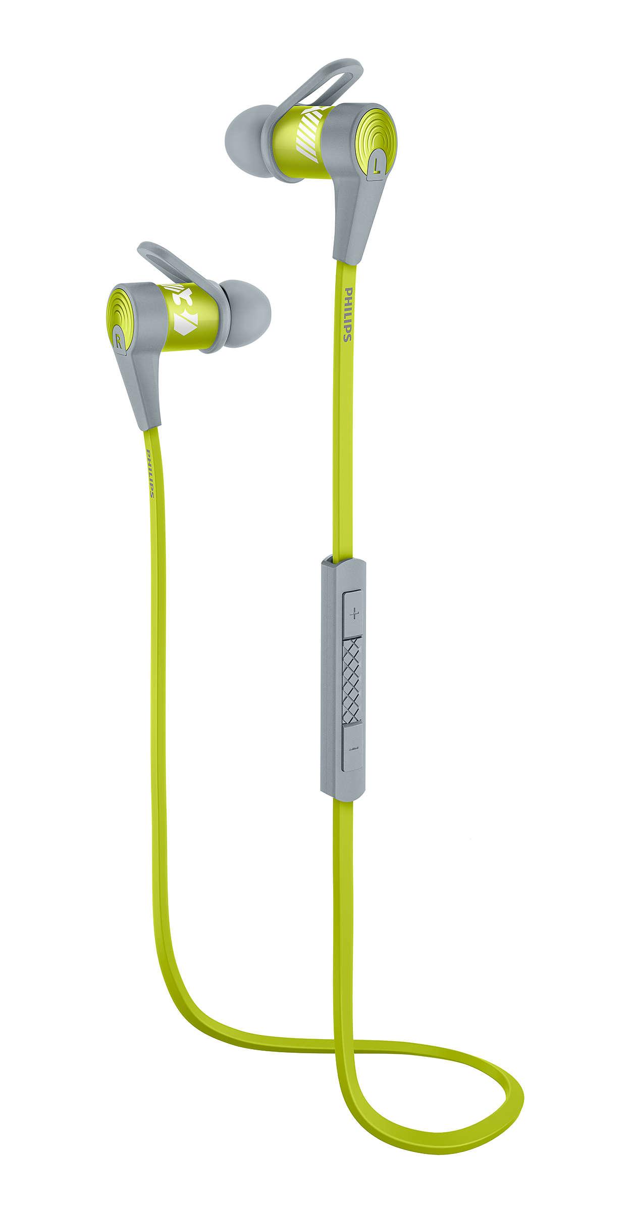 Diseñados para música y deportes