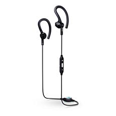 SHQ7800BK/27  Bluetooth® sports headphones