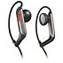 Hörlurar med öronkrokar