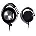 Hörlurar med öronclips