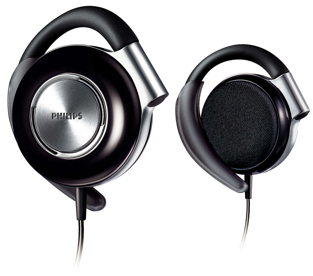 ear clip headphones shs4700 28 philips. Black Bedroom Furniture Sets. Home Design Ideas