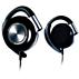 Ear clip headphones