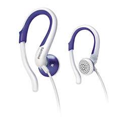 Auriculares con gancho para la oreja
